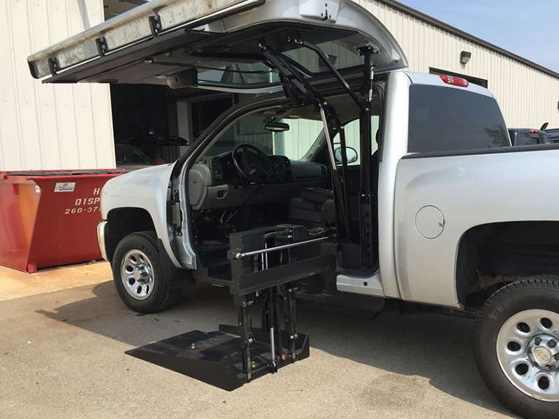 Gmc Denali Wheelchair Lift Conversions