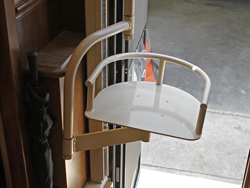 RV Handicap Seat Lift Installation