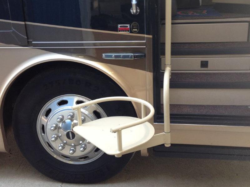 Tiffin RV Handicap Seat Lift Installation