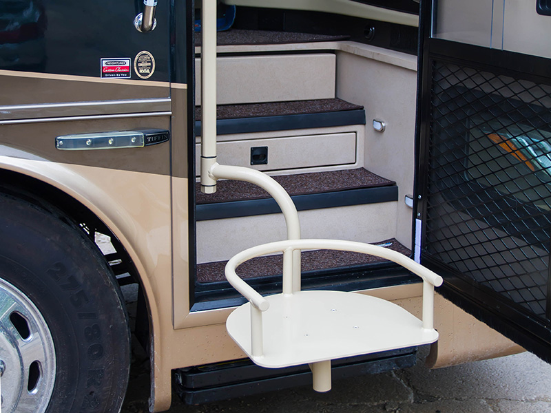 Tiffin Rv Handicap Seat Lift Installation